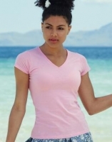 Fruit of the Loom - Lady-Fit Valueweight V-Neck T