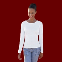 Fruit of the Loom - Lady-Fit Valueweight LS T
