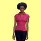 Fruit of the Loom - Lady-Fit Rib Polo